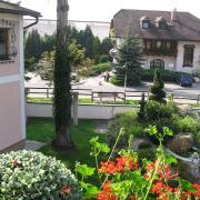 Австрия-2009. Вид из окна отеля в Siezenheim (пригород Зальцбурга)