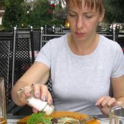 Австрия-2009. Прогулка по городку Siezenheim. Ужин