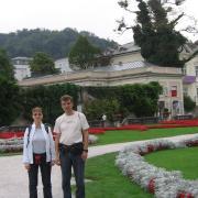 Австрия-2009. Зальцбург. Парк Мирабель