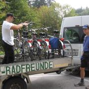Австрия-2009. Унтерах ам зе (Unterach am see). Велосипедовозка