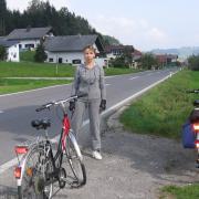 Австрия-2009. Остановка на маршруте