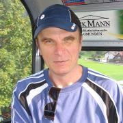 Австрия-2009. Gmunden, Traunsee. Фуникулер - едем на гору