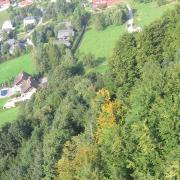 Австрия-2009. Gmunden, Traunsee. Вид сверху