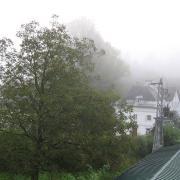 Австрия-2009. Strobl. Утренний туман