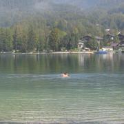 Австрия-2009. Wolfgangsee. Купальный сезон продолжается