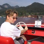 Австрия-2009. Wolfgangsee. Электро-бот