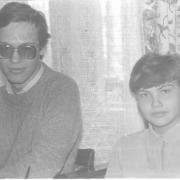 У кого-то в гостях 7 ноября 1986