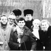 У корпуса Е 1987