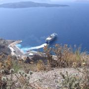 Там внизу наша яхта